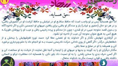 تصویر از رساله حقوق امام سجاد – حق همسایه